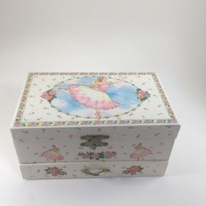 Other - Vintage Ballerina Musical Jewelry Box!